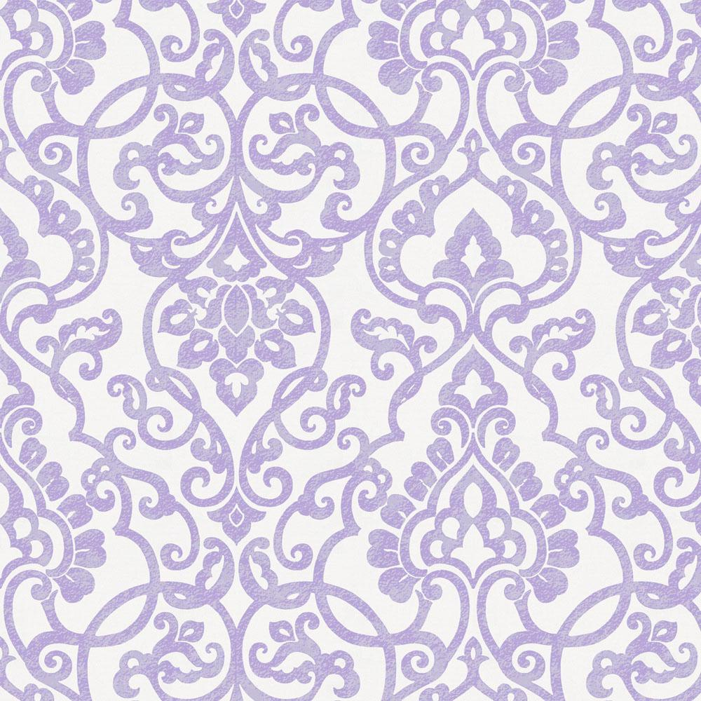 Product image for Lilac Filigree Fabric