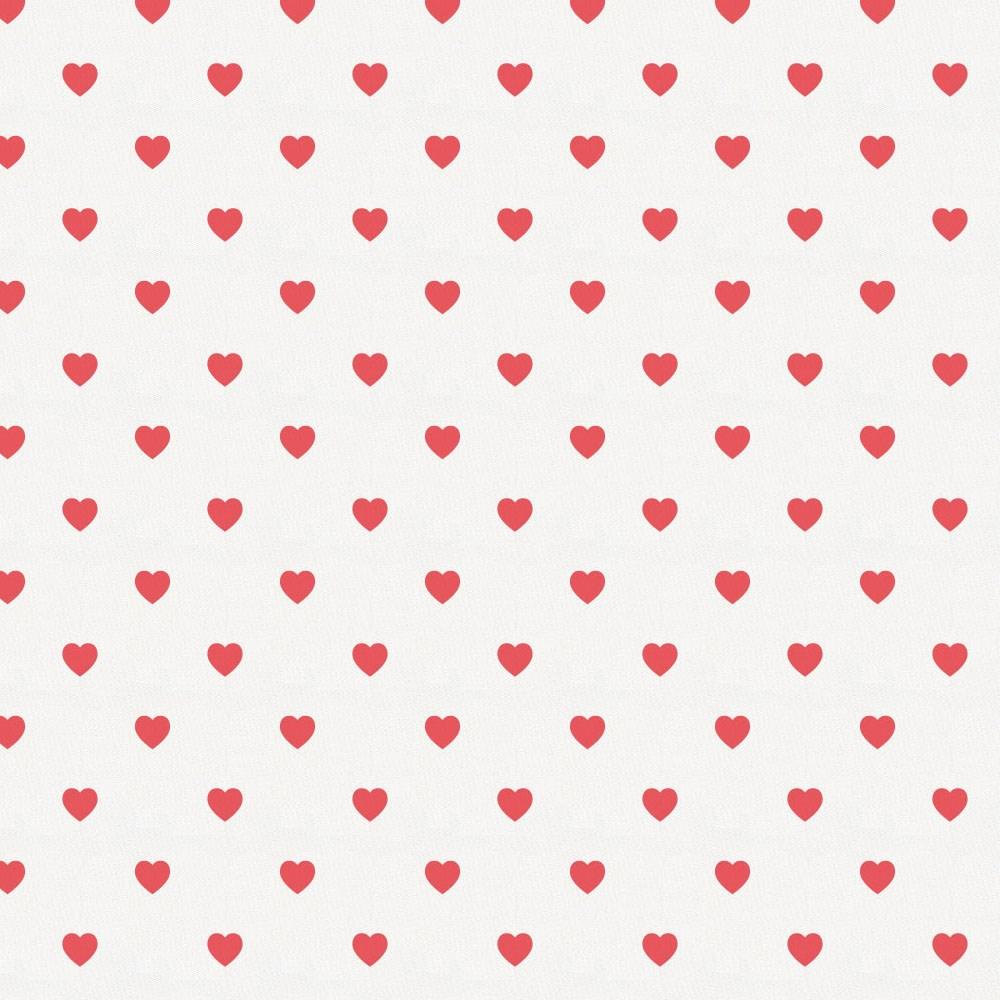 Product image for Coral Hearts Crib Skirt Single-Pleat