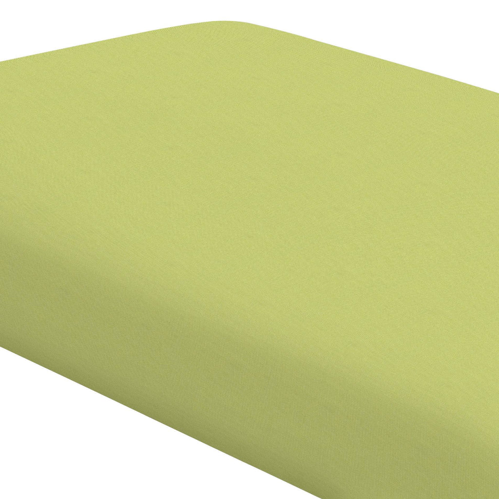 Product image for Solid Light Lime Crib Sheet