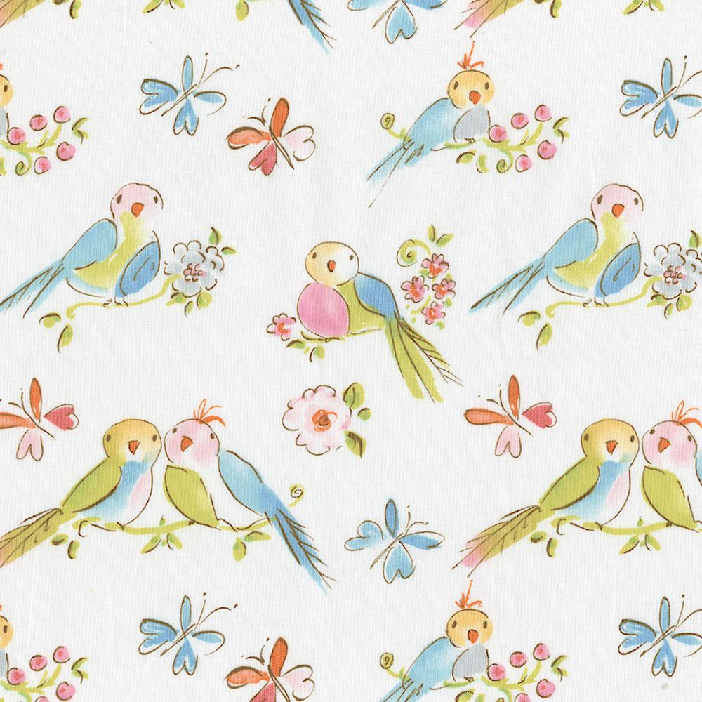 Product image for Love Birds Changing Pad Cover