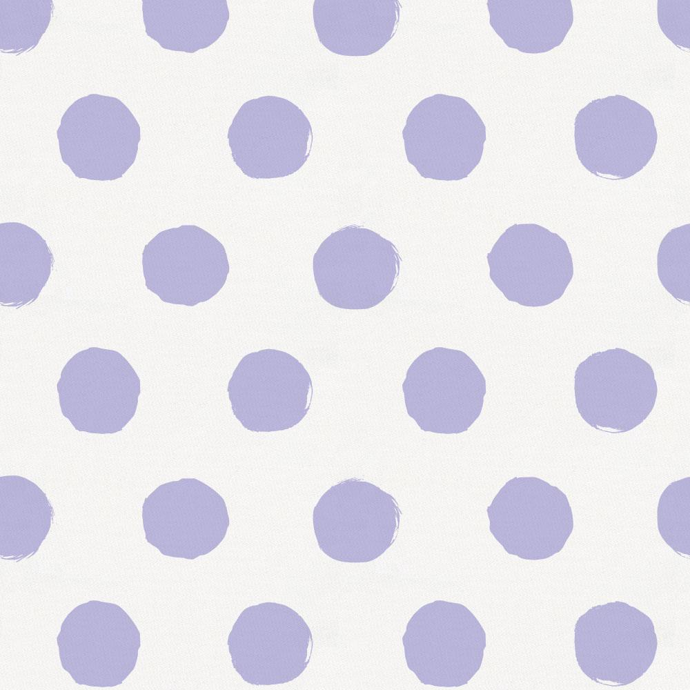 Product image for Lavender Brush Dots Crib Skirt Single-Pleat