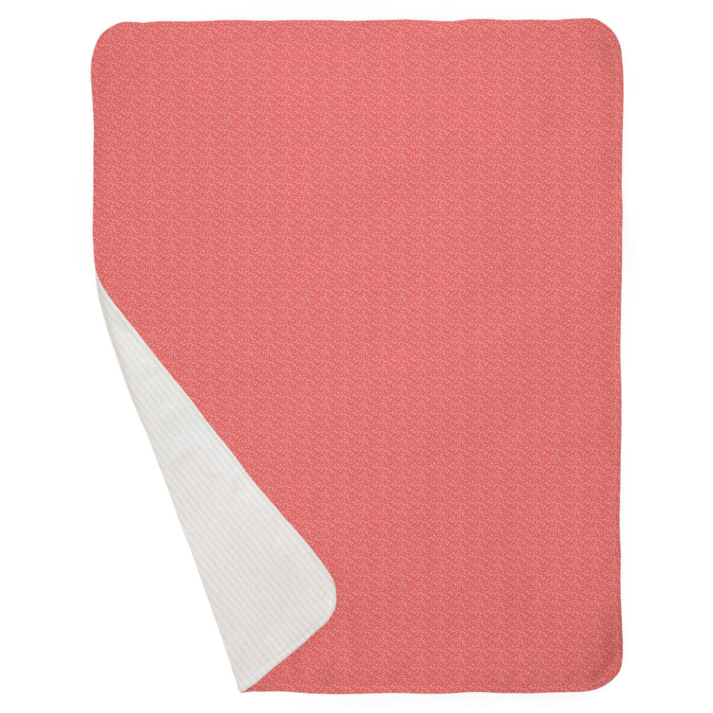 Product image for Coral Confetti Baby Blanket