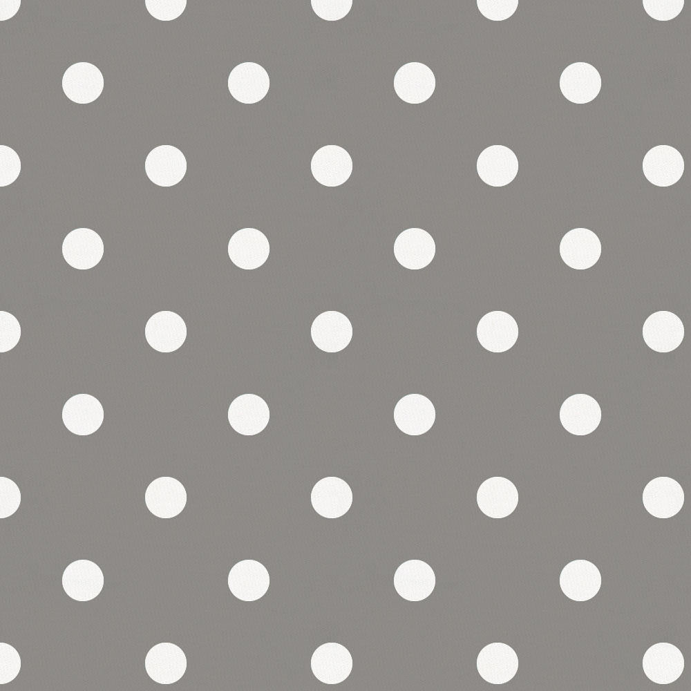Product image for Gray and White Polka Dot Crib Skirt Single-Pleat