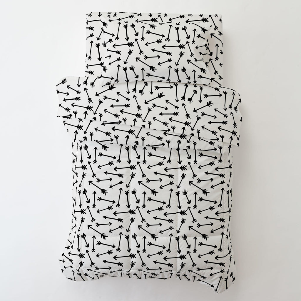 Product image for Onyx Whimsical Arrows Toddler Pillow Case