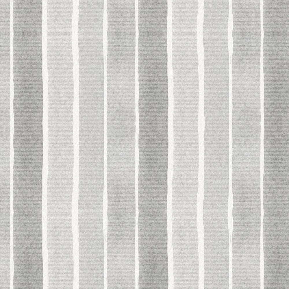 Product image for Gray Watercolor Stripe Mini Crib Sheet