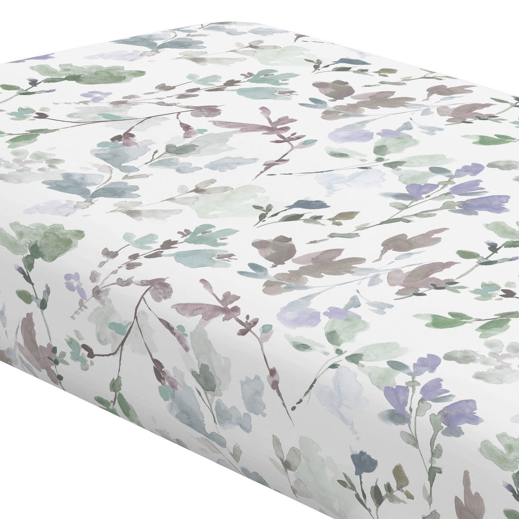 Product image for Soft Wildflower Crib Sheet