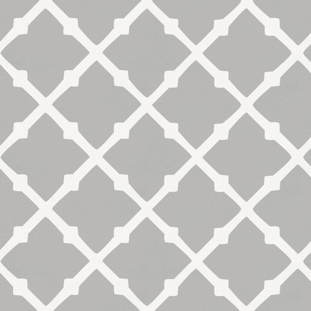 Product image for Silver Gray Lattice Toddler Pillow Case with Pillow Insert