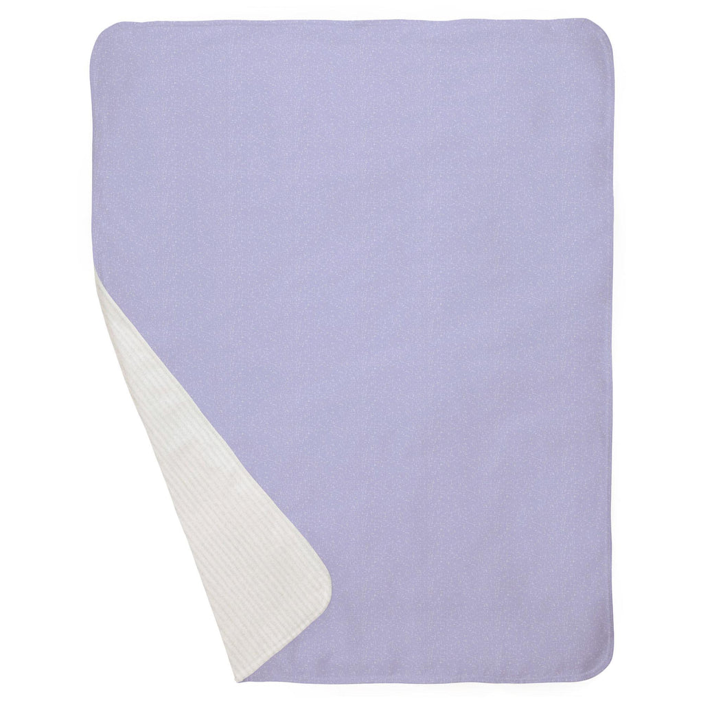 Product image for Lilac Heather Baby Blanket