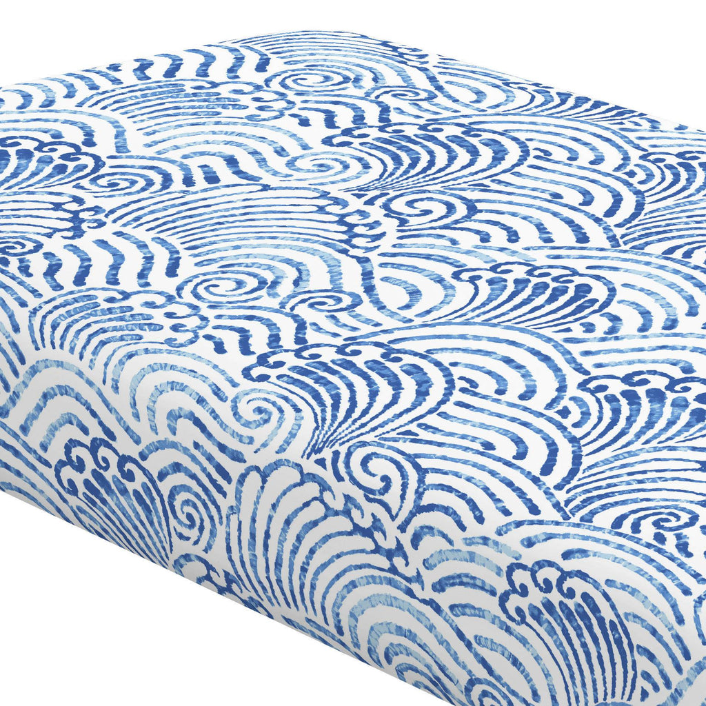 Product image for Blue Seas Crib Sheet