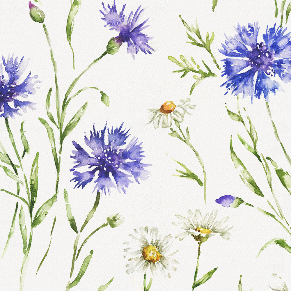 Product image for Cornflower Fields Crib Skirt Gathered