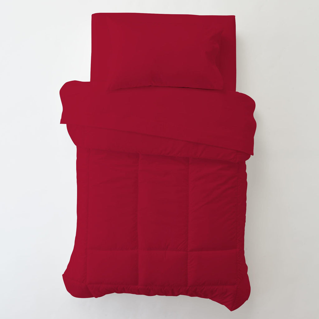 Product image for Solid Red Toddler Pillow Case