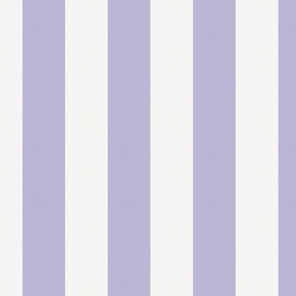 Product image for Lilac Stripe Crib Skirt Gathered