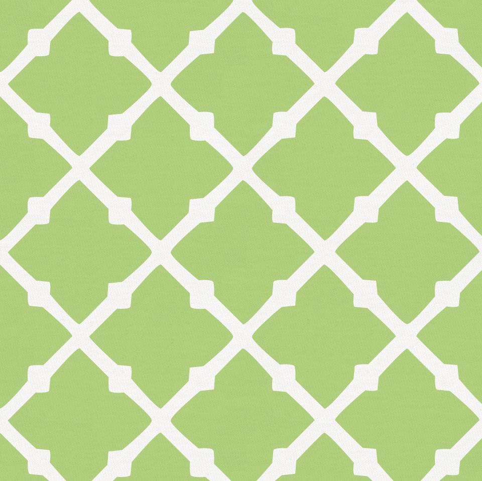 Product image for Kiwi Lattice Crib Skirt Gathered