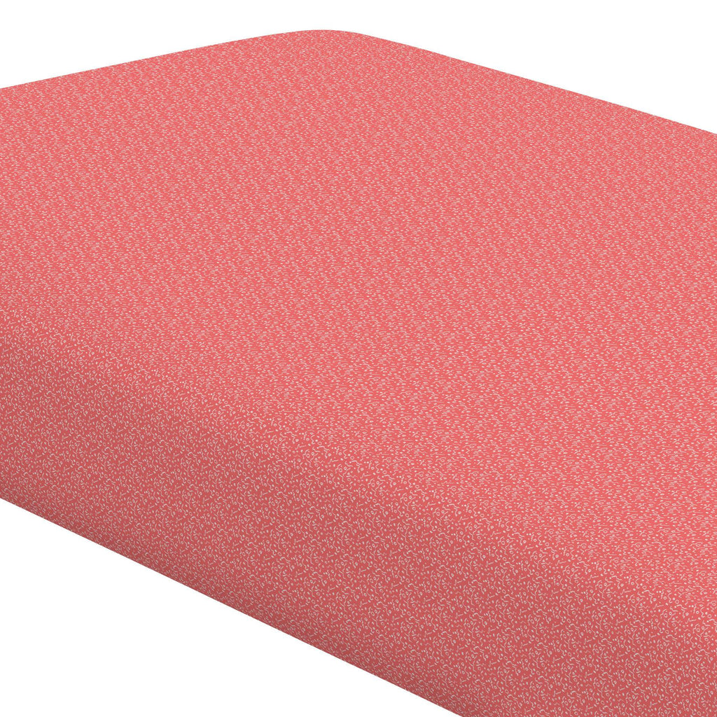 Product image for Coral Confetti Crib Sheet