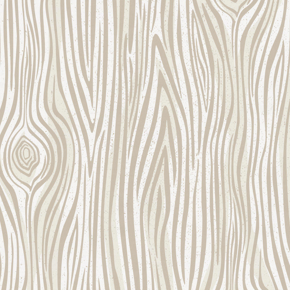 Product image for Taupe Woodgrain Crib Skirt Gathered