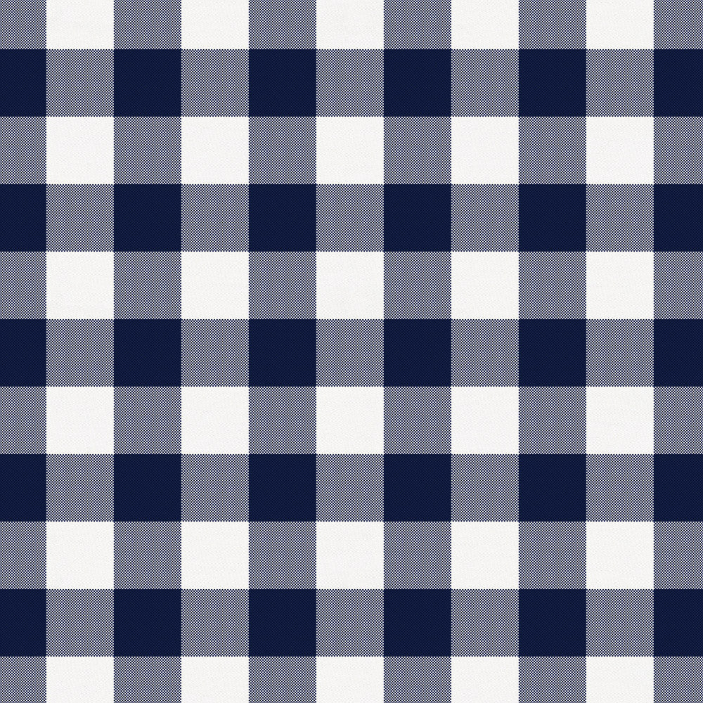 Product image for Windsor Navy Gingham Mini Crib Sheet
