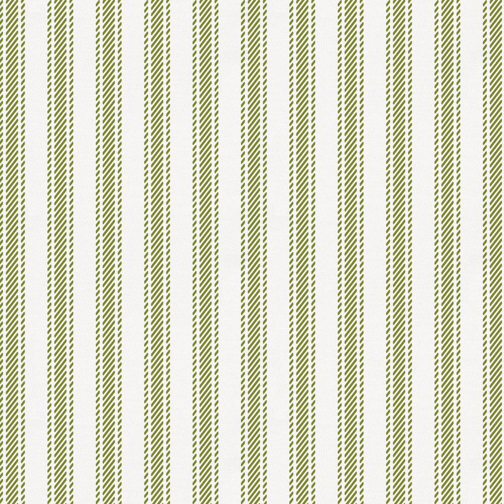 Product image for Sage Ticking Stripe Mini Crib Sheet