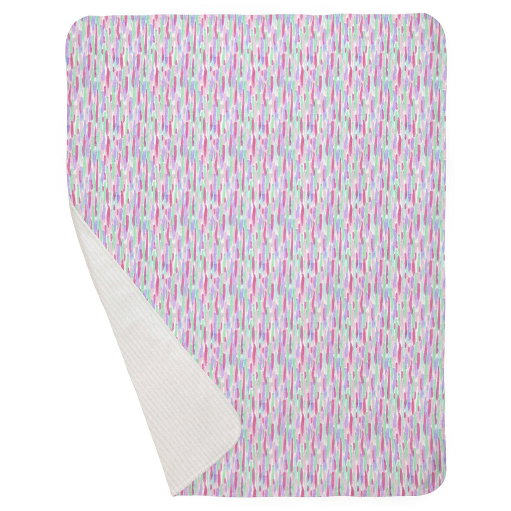Product image for Unicorn Spots Baby Blanket