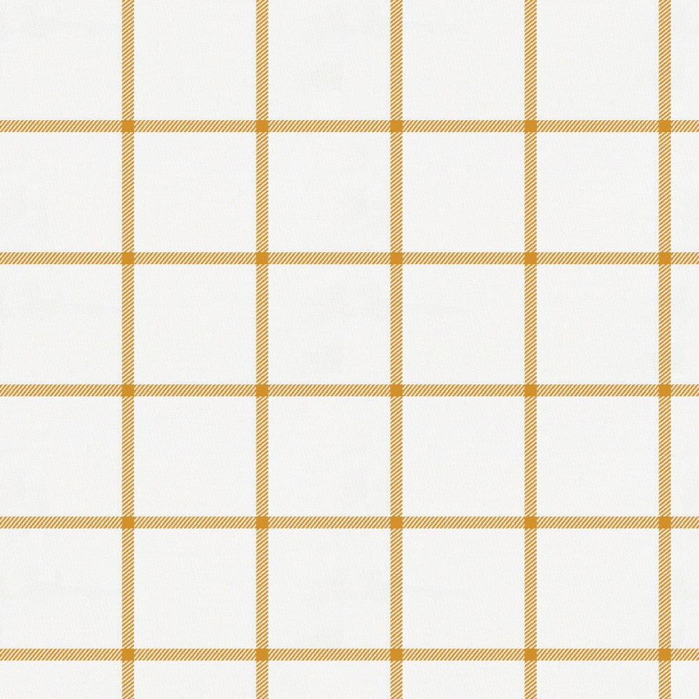 Product image for Mustard Windowpane Mini Crib Sheet