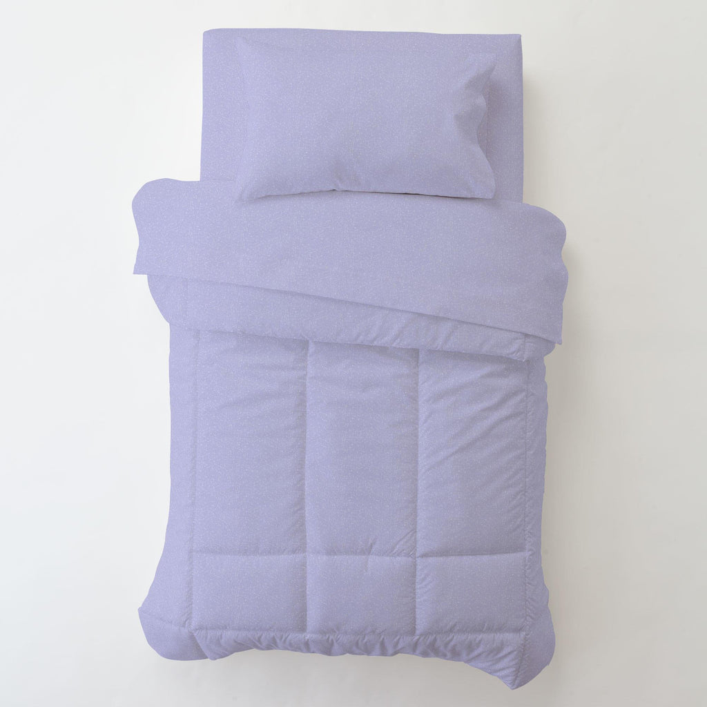 Product image for Lilac Heather Toddler Sheet Bottom Fitted