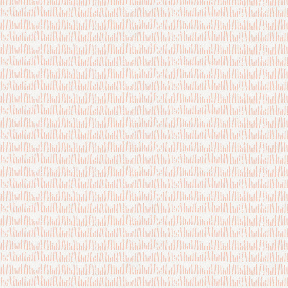 Product image for Peach Woodland Meadow Crib Skirt Gathered