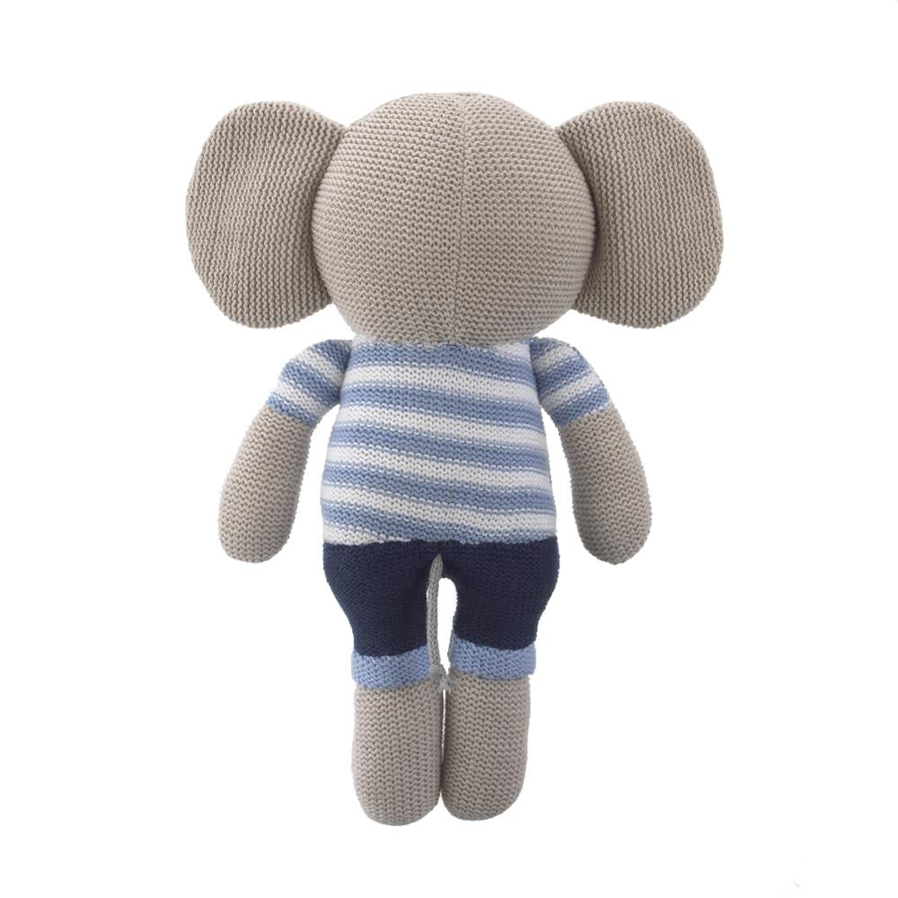 Product image for Elephant Knit Plush Character