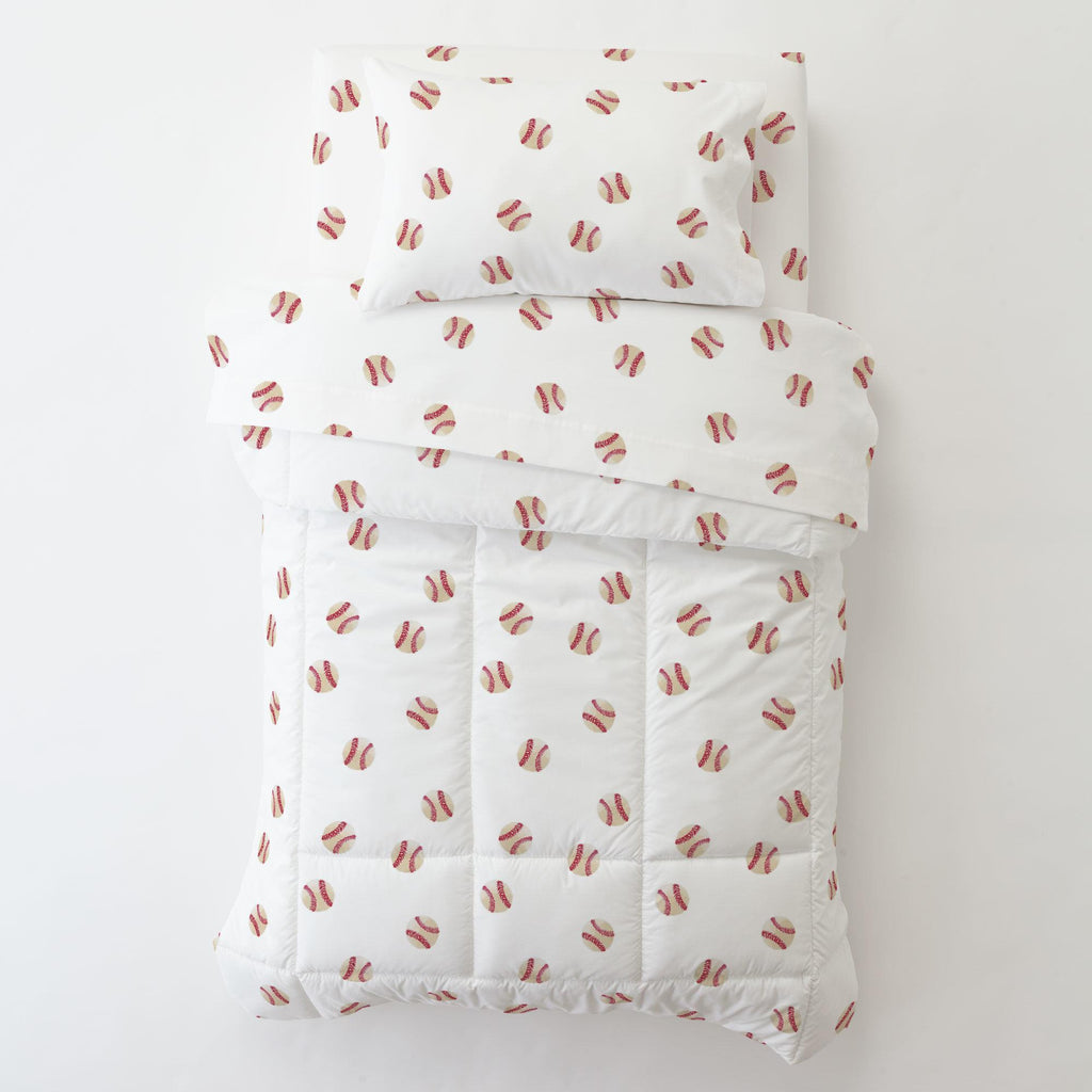 Product image for Watercolor Baseball Toddler Pillow Case