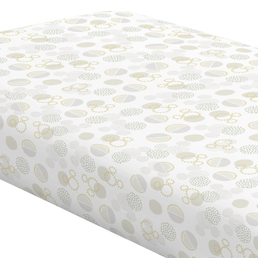 Product image for Disney© Abstract Mickey Boho Crib Sheet