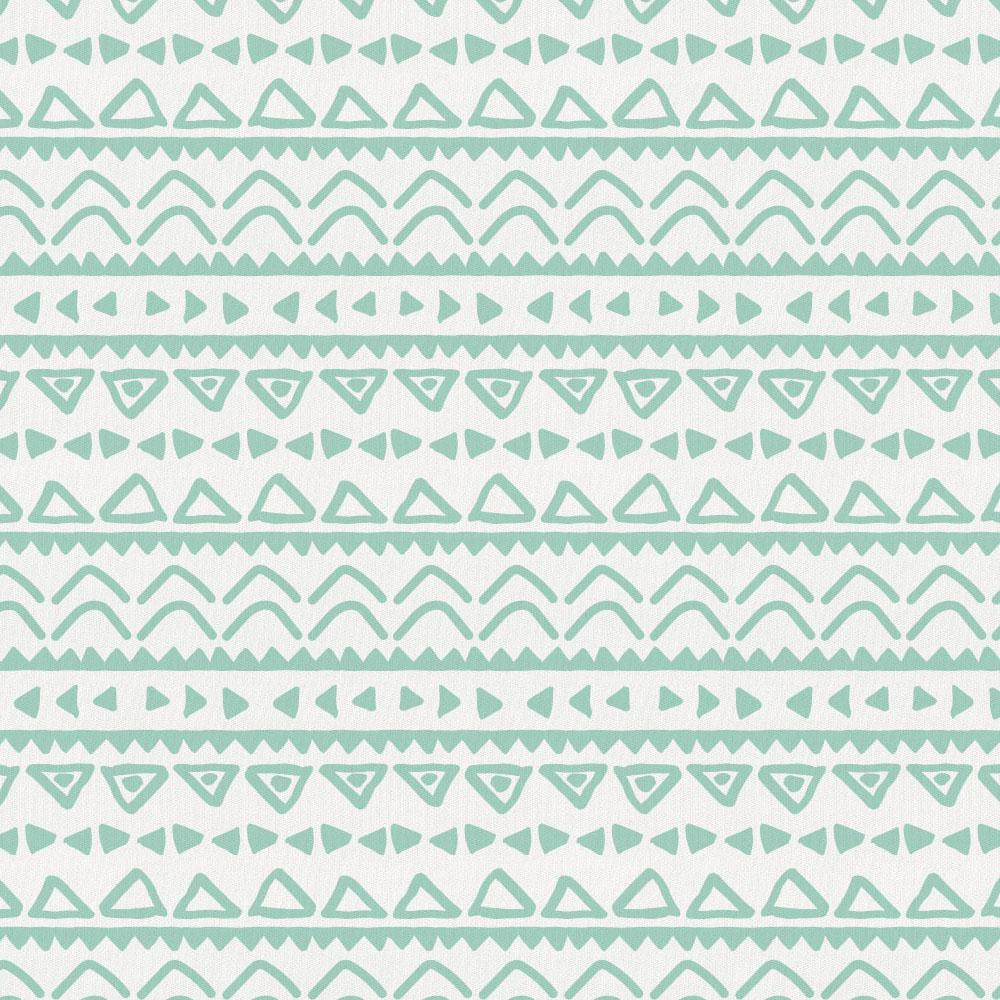 Product image for Mint Baby Aztec Toddler Pillow Case with Pillow Insert