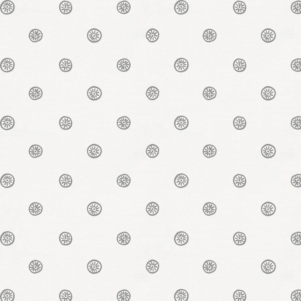 Product image for Cloud Gray Ditsy Dot Toddler Pillow Case with Pillow Insert