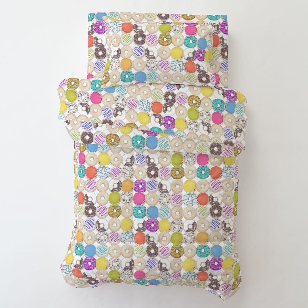 Product image for Donuts Toddler Pillow Case