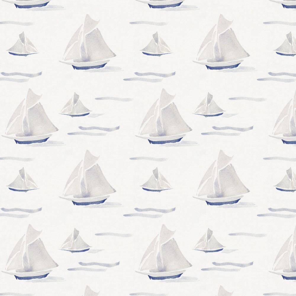 Product image for Watercolor Sailboats Fabric