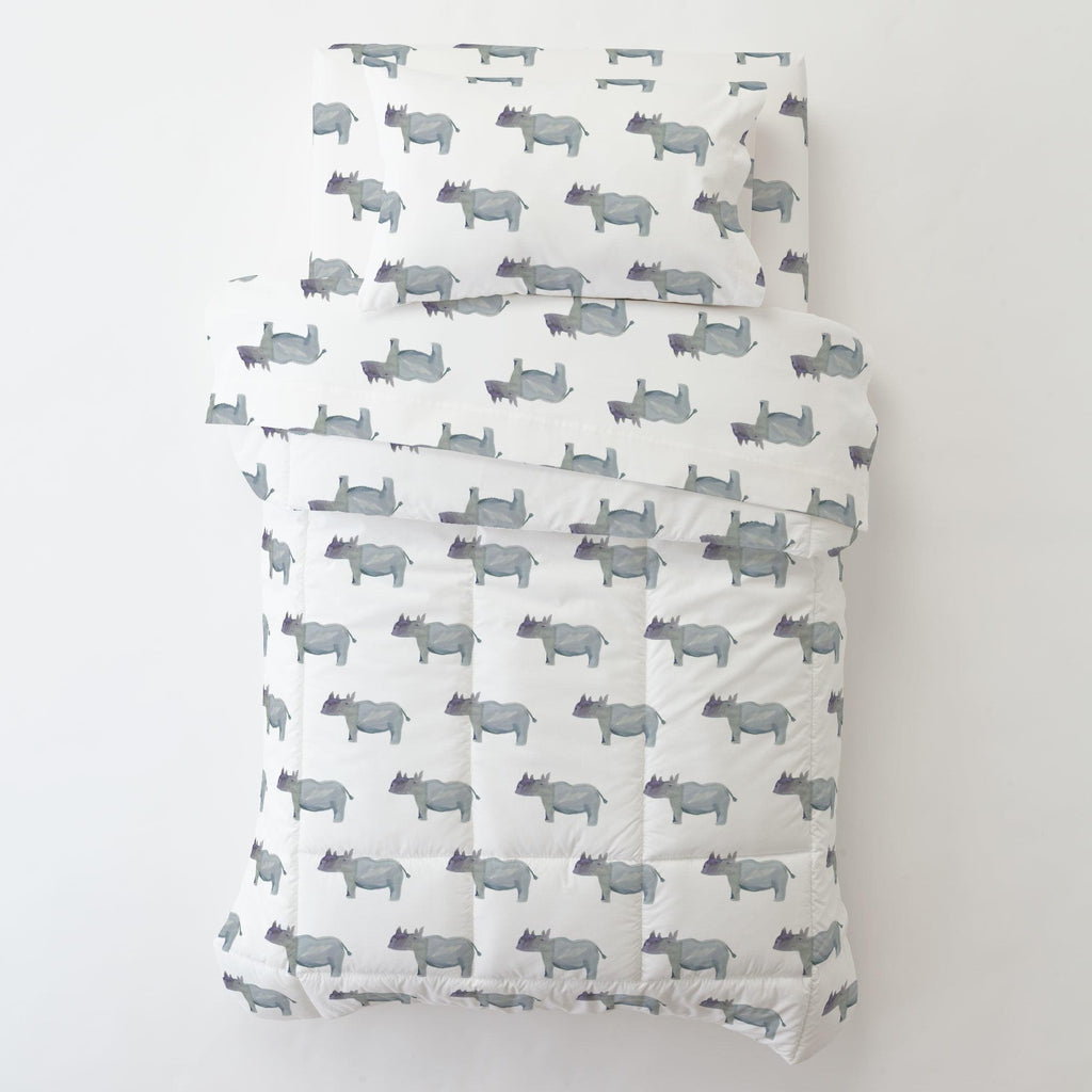 Product image for Painted Rhino Toddler Sheet Bottom Fitted