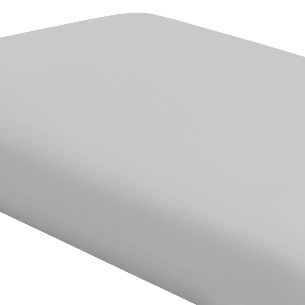 Product image for Solid Silver Gray Crib Sheet