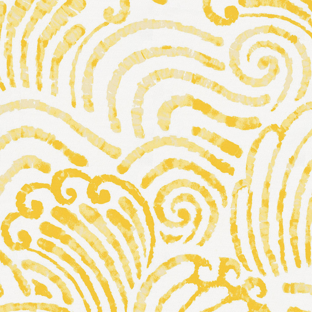 Product image for Yellow Seas Crib Skirt Single-Pleat