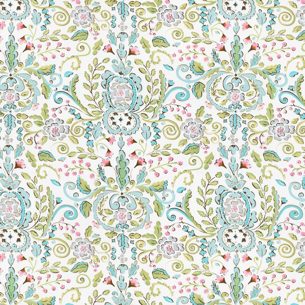 Product image for Love Bird Damask Fabric