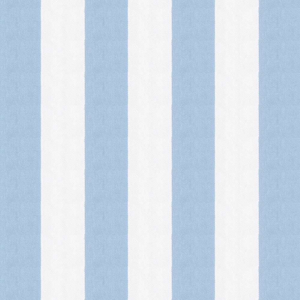 Product image for Blue Giddy Stripe Crib Skirt Gathered