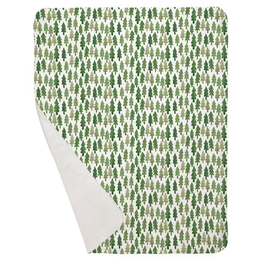 Product image for Evergreen Forest Baby Blanket