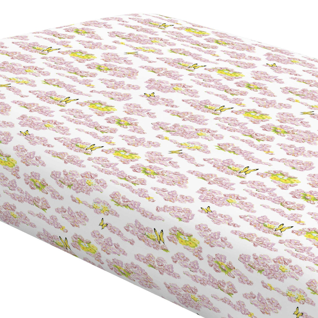Product image for Disney© Bambi Meadow Crib Sheet
