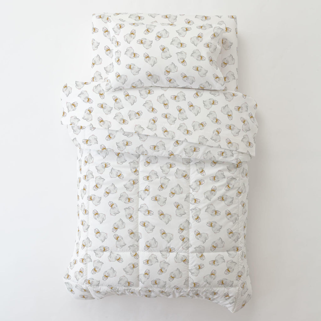 Product image for Painted Bunnies Toddler Pillow Case