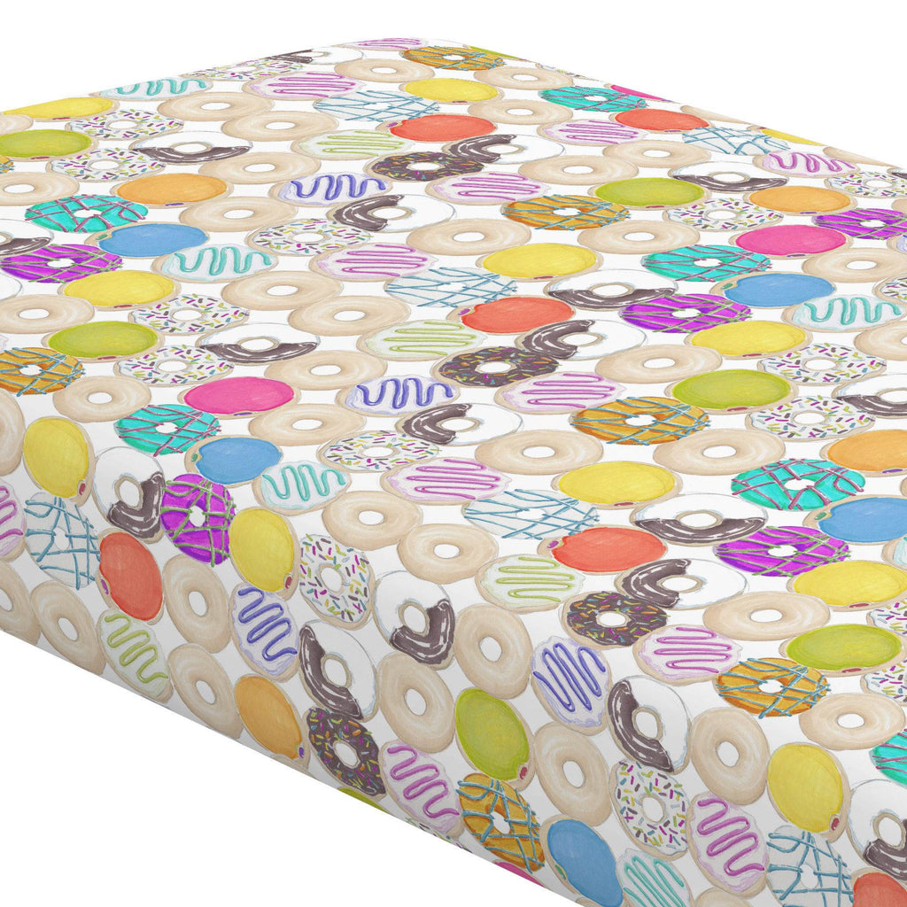 Product image for Donuts Crib Sheet