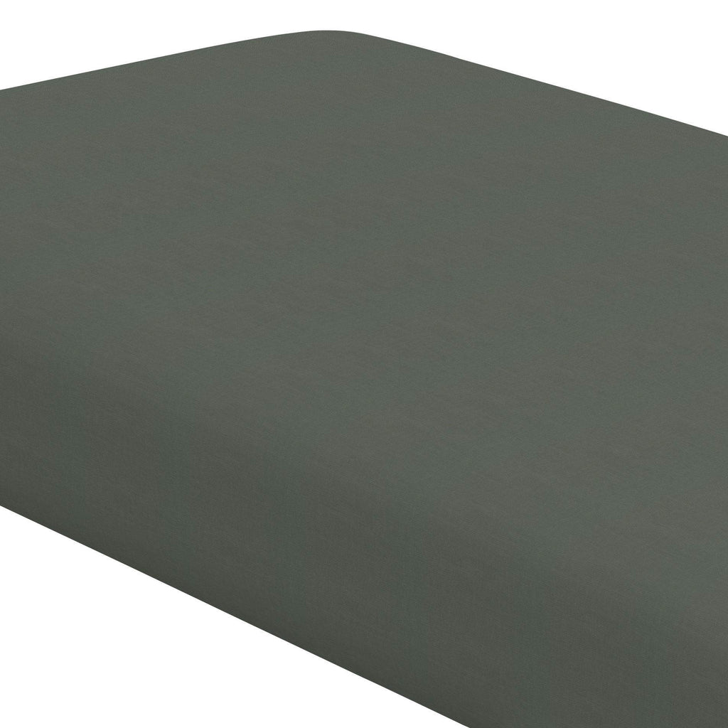 Product image for Solid Slate Gray Crib Sheet