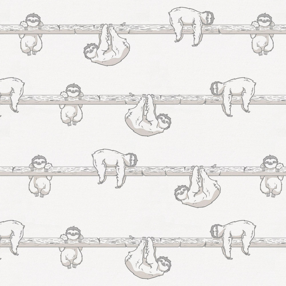 Product image for Gray Sloth Changing Pad Cover