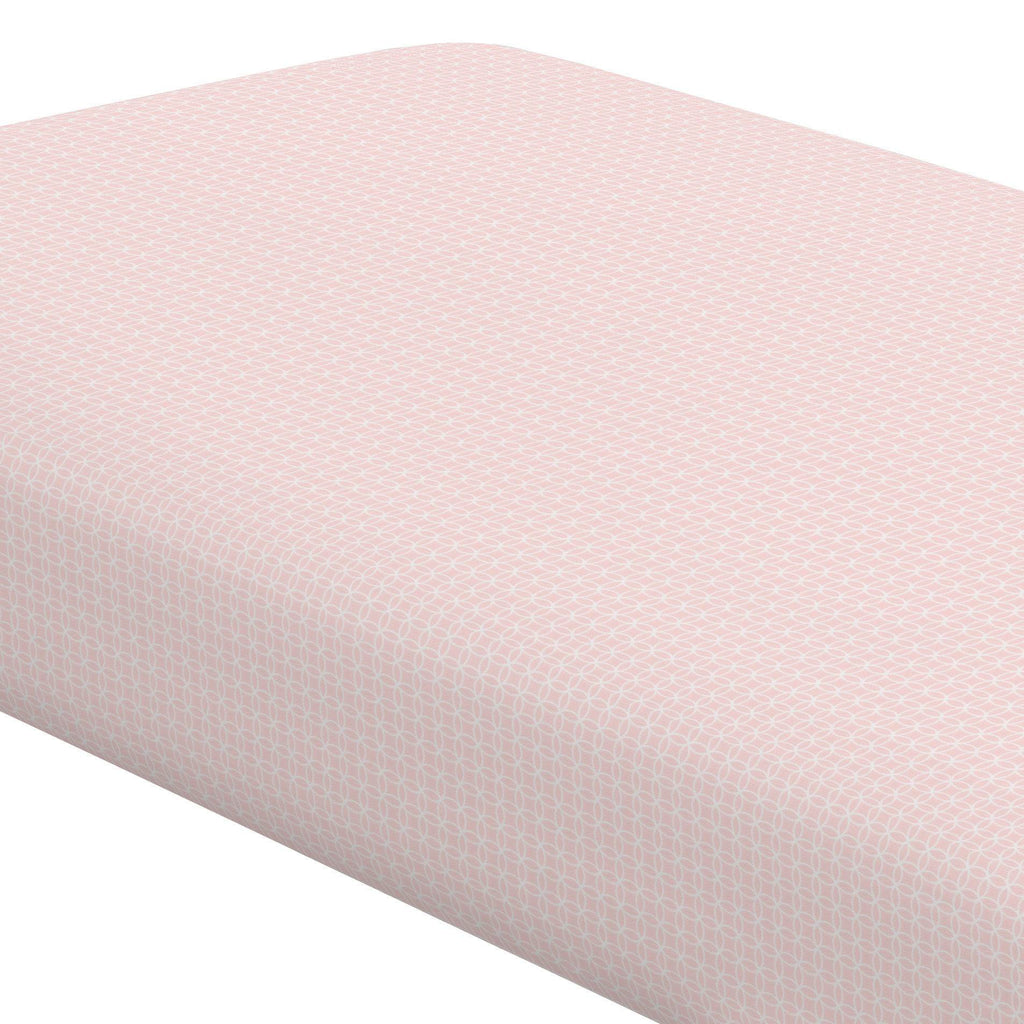 Product image for Pink Circles Crib Sheet