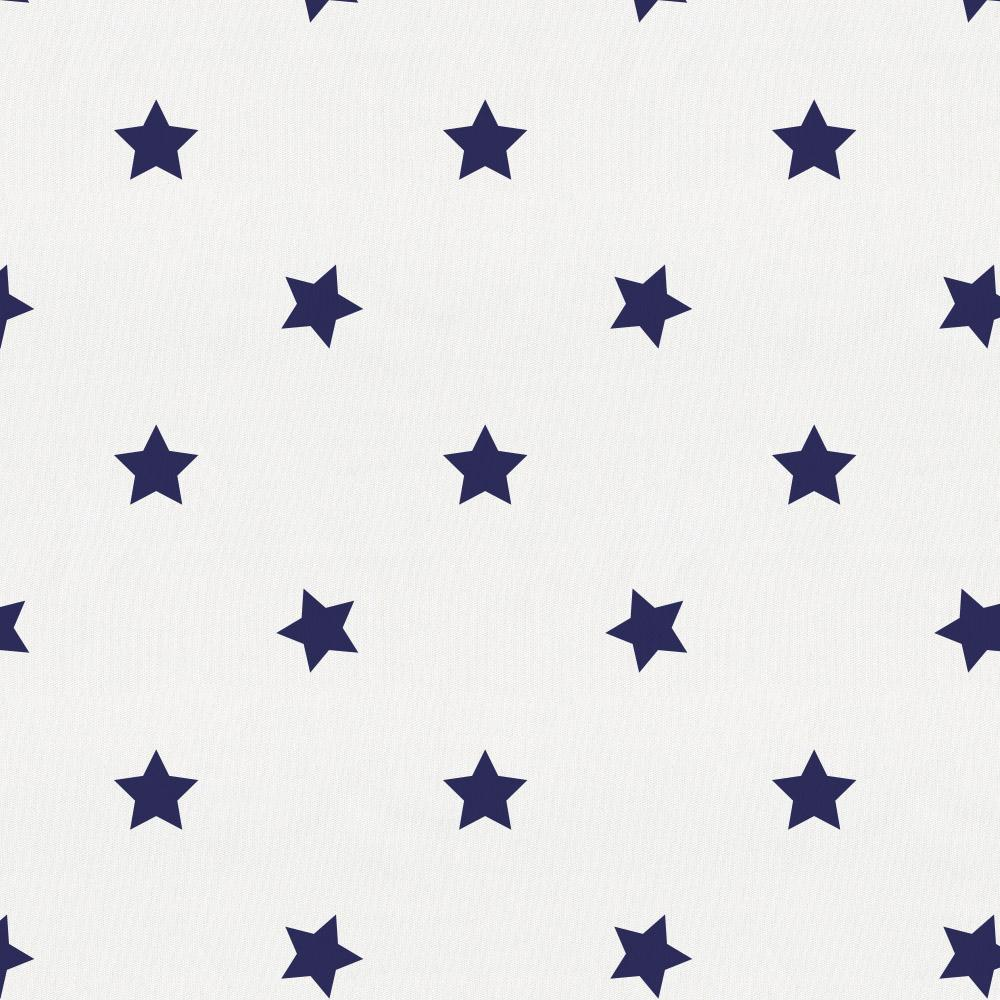 Product image for Navy Stars Crib Skirt Single-Pleat