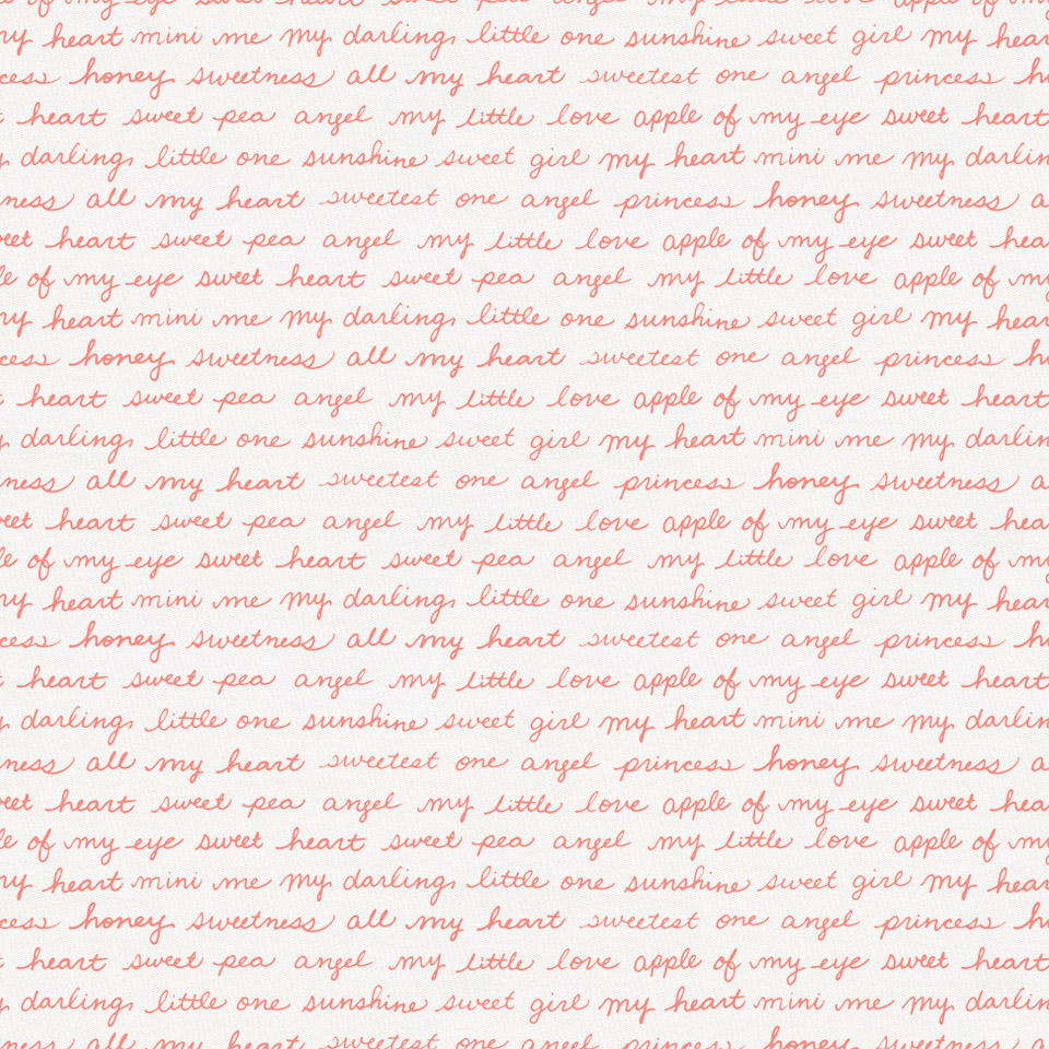 Product image for Light Coral Sweet Girl Fabric