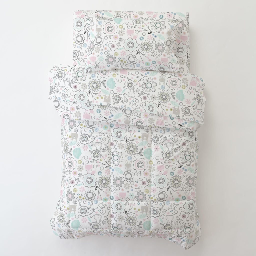 Product image for Pink Spring Doodles Toddler Pillow Case