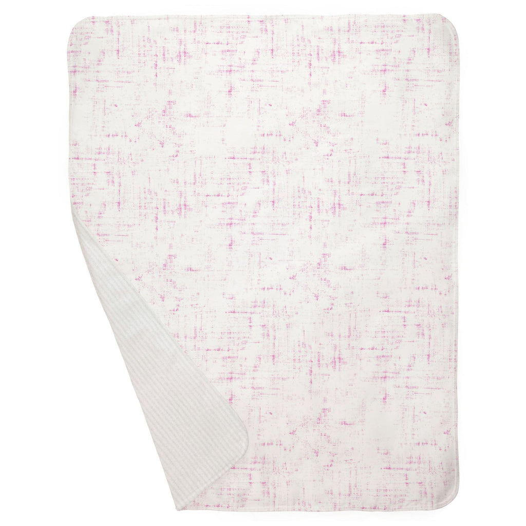 Product image for Hot Pink Distressed Baby Blanket
