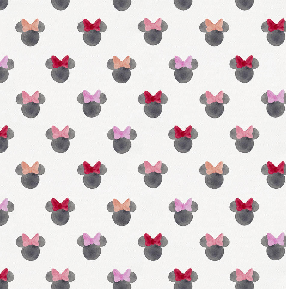 Product image for Disney© Watercolor Minnie Ears Fabric