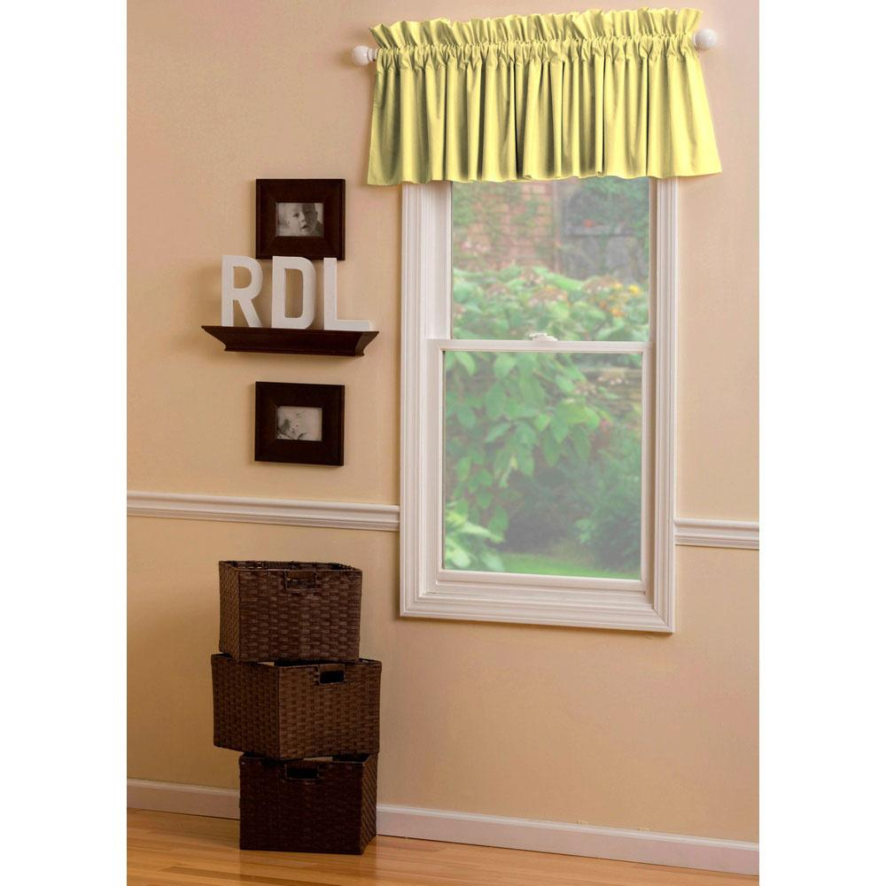 Product image for Solid Banana Window Valance